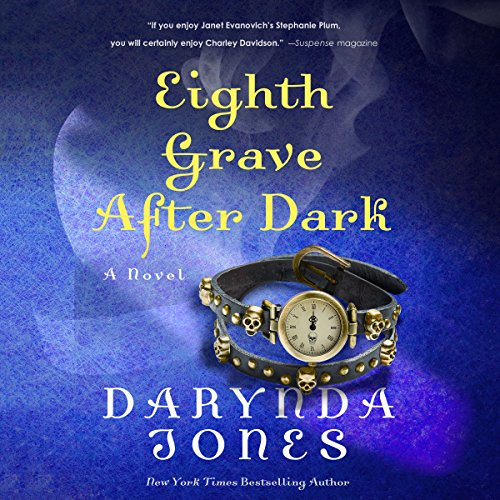 Eighth Grave After Dark audiobook cover art