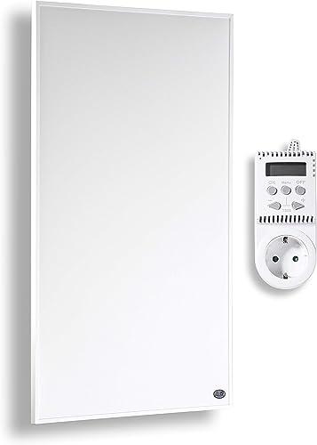Könighaus calefacción por infrarrojos 800 y 1000 vatios con MOT + 10 años de garantía ?Infrarotheizung Para 12-34M² (...