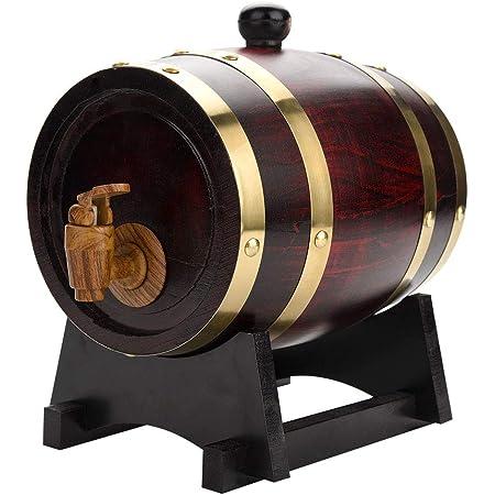 Barril de madera de roble, 3L Hogar Barril de barril de ...