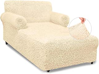 Chaise Lounge Cover - Lounge Sofa Slipcover- Soft...
