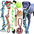 Youngever 6 Pack Large Dog Rope Toys, Dog Chew Toys, Dog Toys for Medium, Large, XL Large Dogs