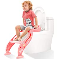 KIDPAR Training Seat Adjustable Toddler Toilet Potty Chair for Kids