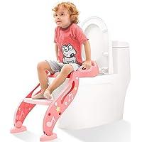 KIDPAR Training Seat Adjustable Toddler Toilet Potty Chair for Kids