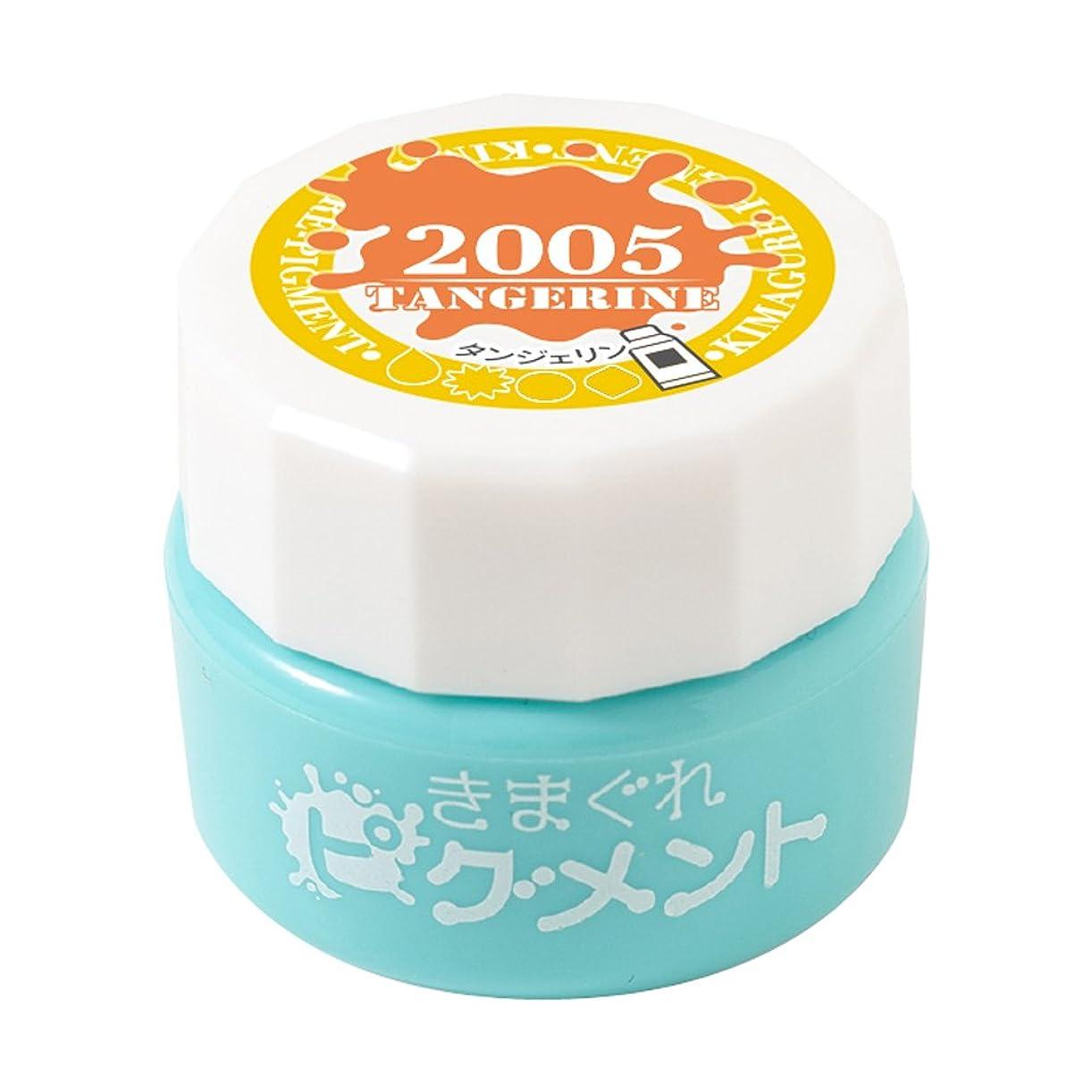 配分標準銛Bettygel きまぐれピグメント タンジェリン QYJ-2005 4g UV/LED対応
