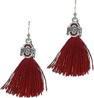 Ohio State Buckeyes Tassel Earrings