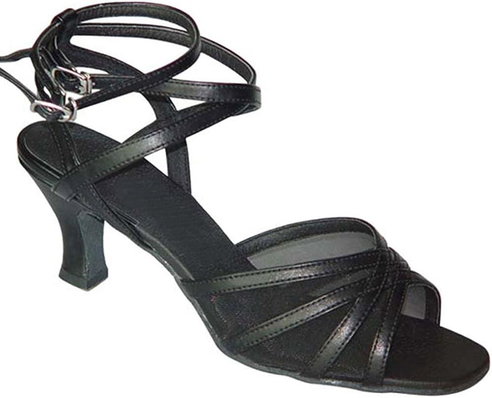 BlueBell Shoes Handmade Women's Ballroom Salsa Wedding Competition Dance Shoes Kate 2.5