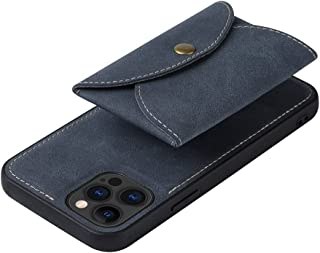 SGJFZD for iPhone 12 iPhone 12 Pro Protective Case Leather Wallet Case Magnetic Detachable Card Holder Support Magsafe Cha...
