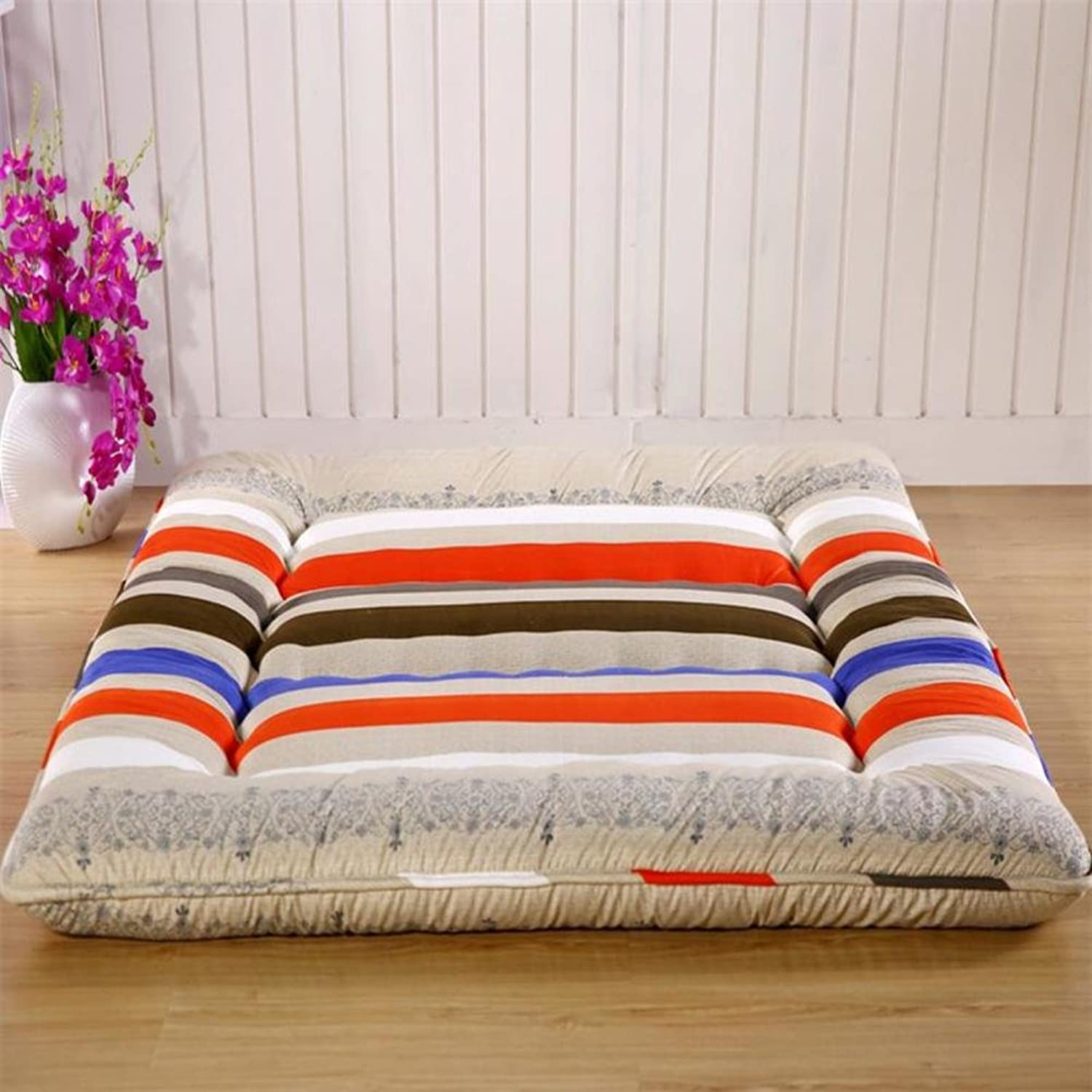 Thickened,Tatami,Mattress Single,Double,Student Dormitory,10cm Bed Cushion-H 100x200cm(39x79inch)