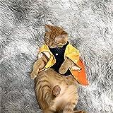 鬼滅の刃 ペット服 我妻善逸 犬服 猫服 コスプレ 可愛い ペット 衣装 着物 コスプレ 仮装 コスチューム かわいい おしゃれ