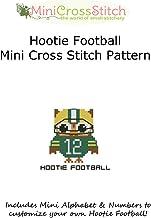 Hootie Football Mini Cross Stitch Pattern