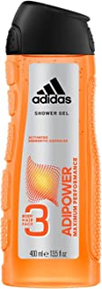 Adidas Adipower 3In1 Body, Hair And Face Shower Gel For Him, 400 ml