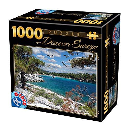 Unbekannt Puzzle 1000 Teile - Discover Europe - Corfu