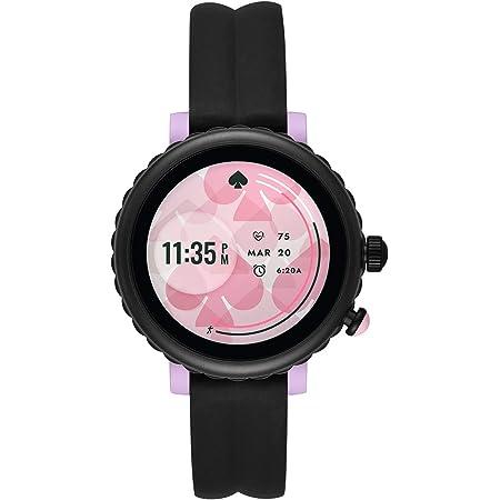 [ケイト・スペード ニューヨーク] 腕時計 タッチスクリーンスマートウォッチ KST2017 レディース 正規輸入品 ブラック
