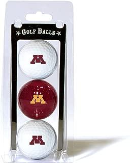 Team Golf NCAA Regulation Size Golf Balls, 3 Pack, Full Color Durable Team Imprint