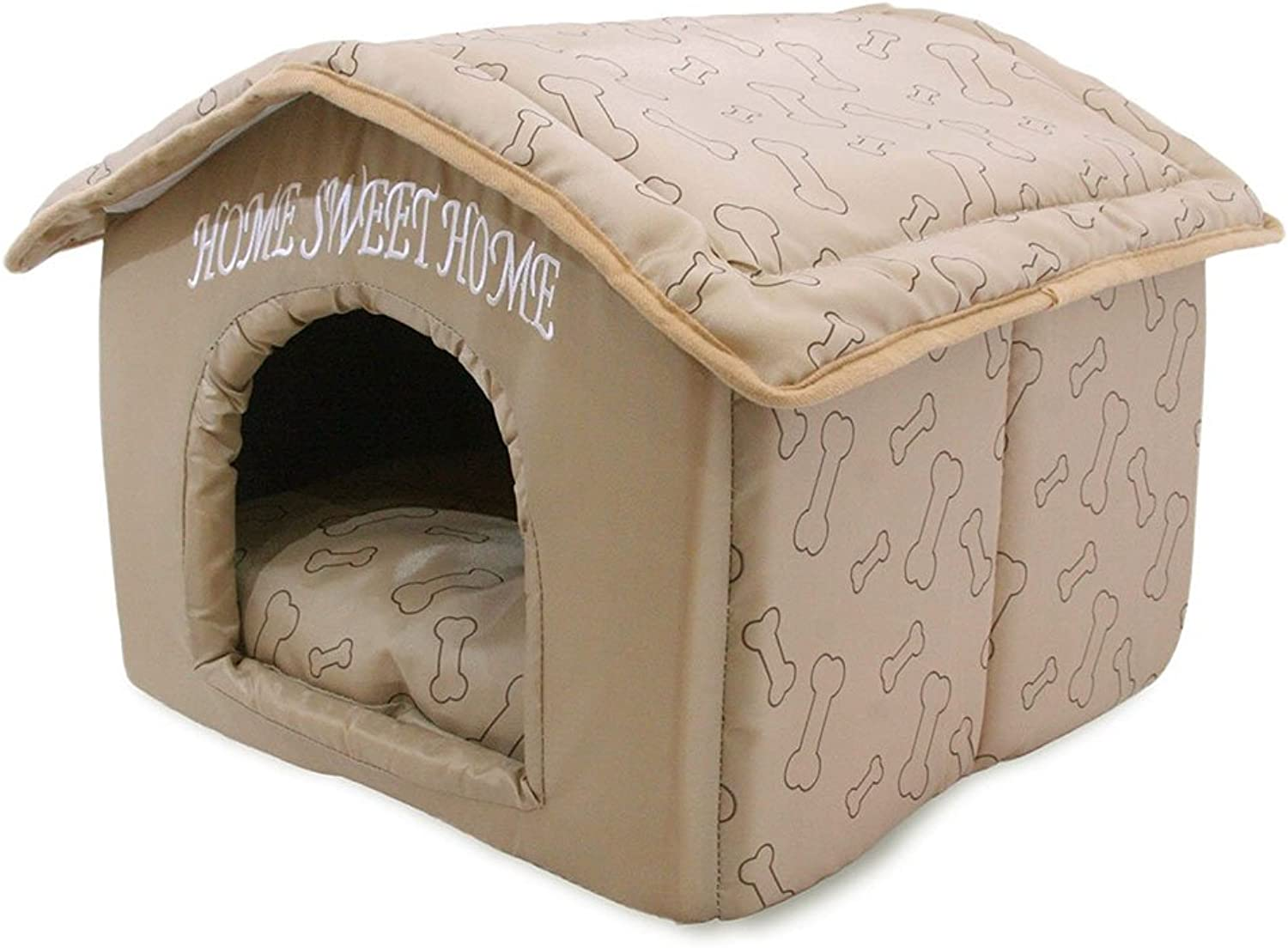 Best Pet Supplies Portable Indoor Pet House, Brown