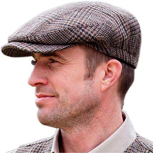 Tweed Golf Cap, Traditional Style Golfing Hat, Irish Golf...