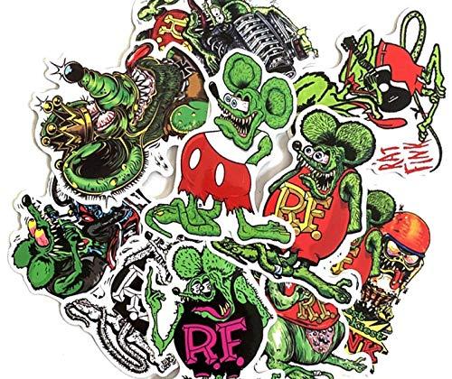 SELECT SIZE Rat Evil Car Vinyl Sticker