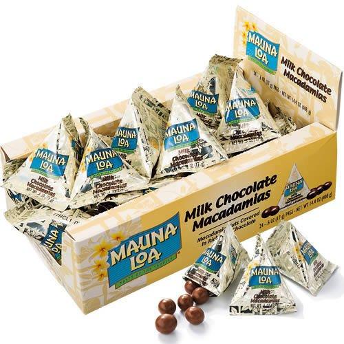 【ハワイ お土産】マウナロア・マカダミアナッツチョコミニパック(ハワイ チョコレート)