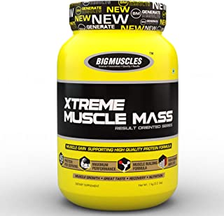 Bigmuscles Nutrition Xtreme Muscle Mass 2.2 Lbs (Strawberry Twirl)