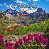 """2021 Colorado Scenic Calendar - 12X12"""" - 16 Months (Sep 2020 - Dec 2021)"""