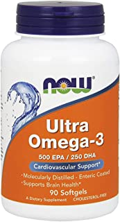 Now Food Ultra Omega-3, 90 Soft gels