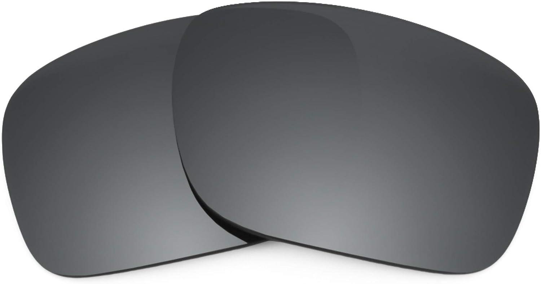 Revant Verres de Rechange pour Oakley Holston - Compatibles avec les Lunettes de Soleil Oakley Holston Chromé Noir Mirrorshield - Polarisés Elite