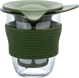 Hario Handy Tea Maker, 200ml, Olive Green