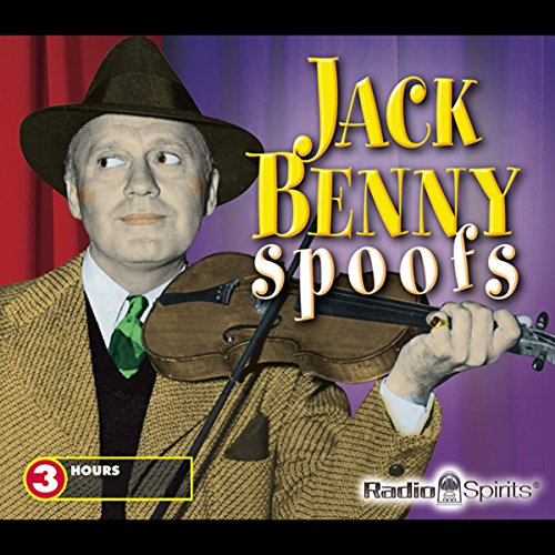 Jack Benny Spoofs audiobook cover art