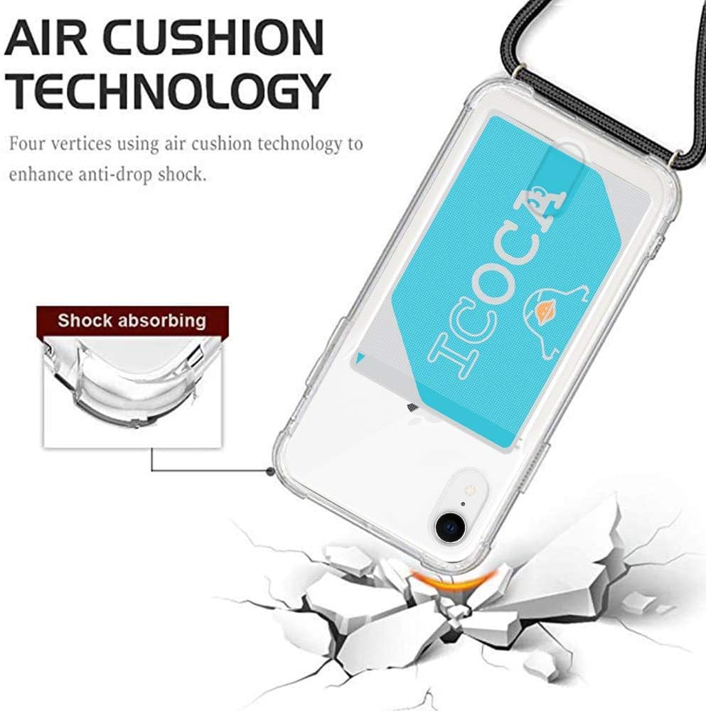 YESPURE Crossbody Case for iPhone XR 6.1
