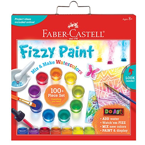 Faber-Castell Do Art Fizzy Paint, Mix & Make Liquid Watercolors - Watercolor Paint Set for Kids