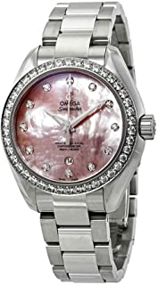 Omega - Seamaster Aqua Terra reloj automático de mujer diamante 231.15.34.20.57.003