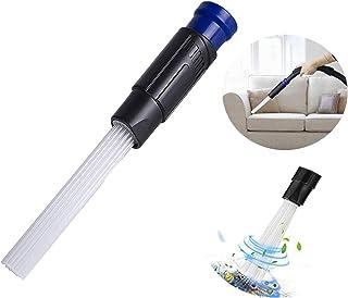 Limpiador Cepillo de Polvo, Vacío Universal para Respiraderos / Teclados / Cajones / Automóvil / Artesanías / Joyería / Plantas (Azul)