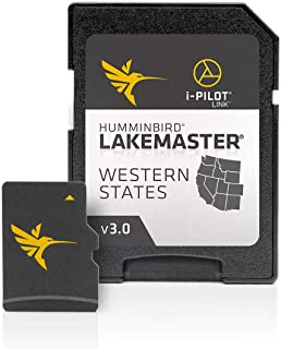 $95 » Humminbird 600011-4 LakeMaster Western States V3 Digital GPS Maps Micro Card