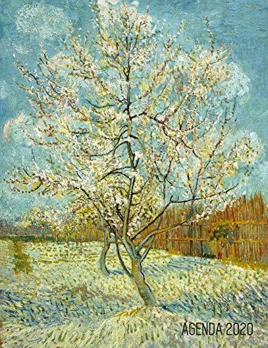 Il Rosa Pesco Pianificatore Settimanale 2020: Vincent van Gogh | Inizia Ora e Dura Fino Dicembre 2020 | Pittore Olandese | Agenda Settimanale 2020 (12 Mesi) | Post Impressionismo