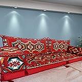 Spirit Home Interiors Bodensessel   Boden Sitz Sofa   Boden Couch   Ecksofa   Eckcouch   Schlafsofa   Orientalische sitzecke   Arabische Majlis / SHI_FS238