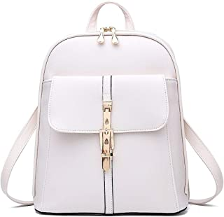 LEOO Lederrucksack für Frauen Elegante Damen Reisetasche