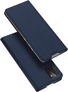 DUX DUCIS fodral för Samsung Galaxy Note 10 Lite, Ultra Fit Flip Folio läderfodral med [Kickstand] [Kortplats] [magnetisk ...
