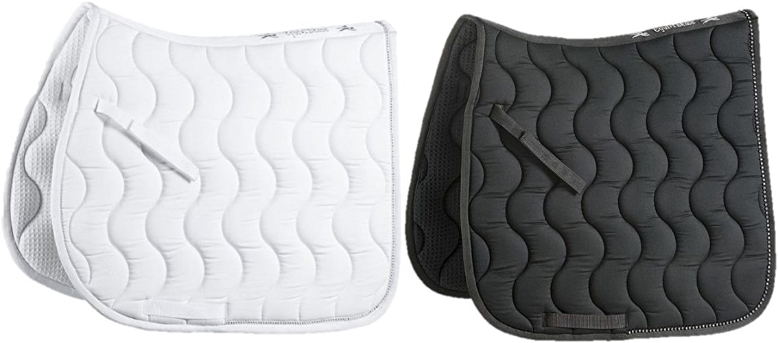 Tapis Strass dressage - Couleurs - Blanc, Taille Equipement Cheval - Cheval