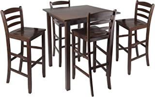 Wood & Style Premium Décor 5pc High Table with 29