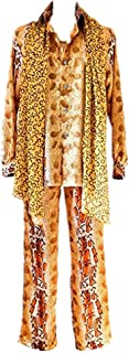 Popular PPAP Dancing Costumes Leopard Print Top Shirts PPAP Uncle Piko Same Cosplay