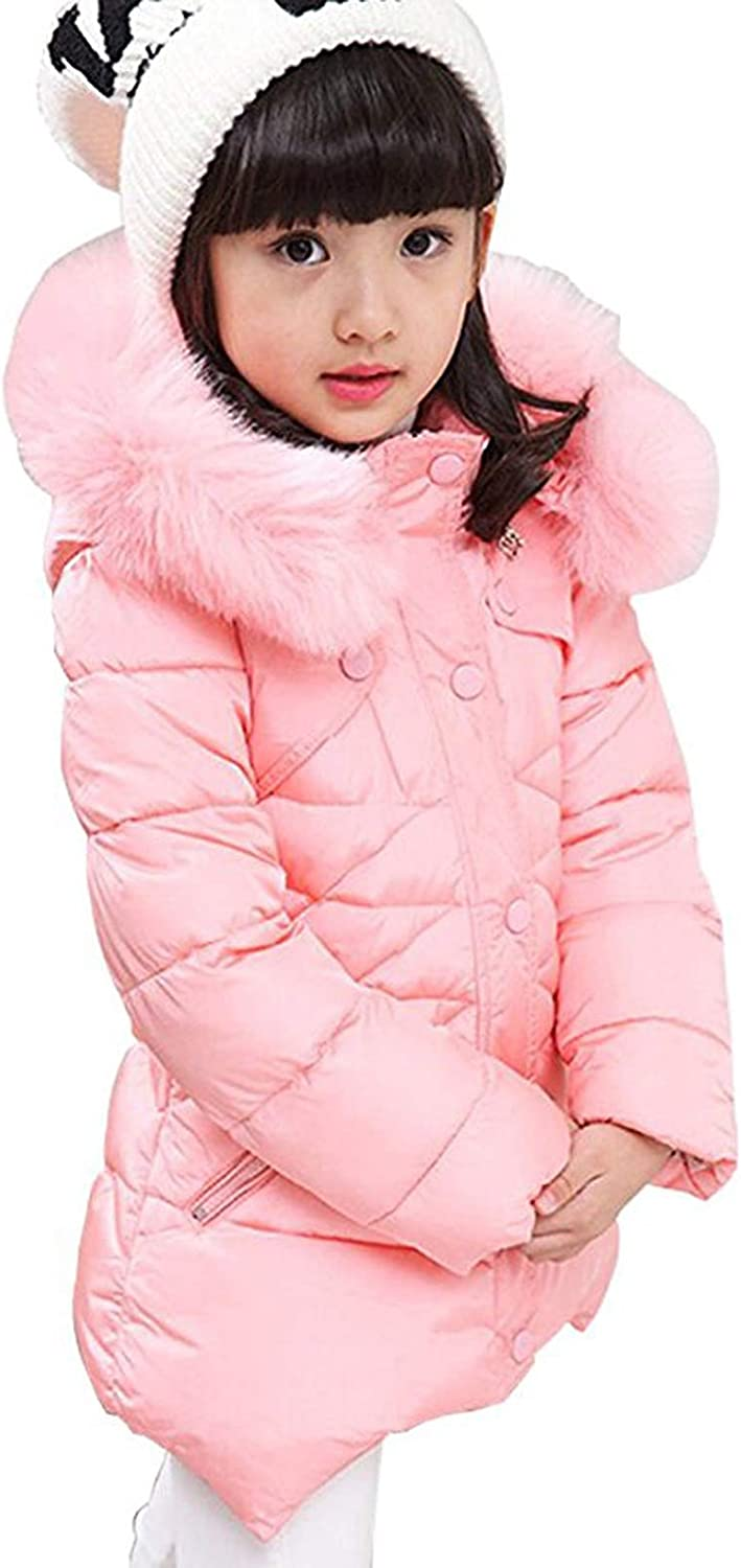 Girls Winter Coats Fur High quality new Hooded Warm Cheap mail order specialty store Parka for Jacket Puffer Coat