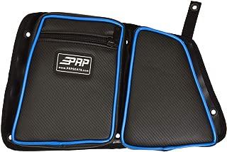 PRP Seats E41-V Voodoo Blue Passenger Side Rear Door Bag with Knee Pad