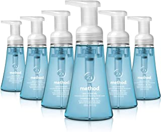 Method Foaming Hand Soap, Sea Minerals, 10 Fl Oz (Pack of 6)