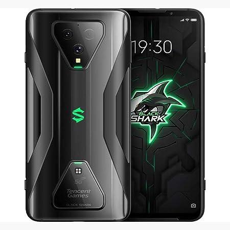 "Xiaomi Black Shark 3 5G 6.67"" 256GB 12GB (GSM Only, No CDMA) International Version - No Warranty (Midnight Black) 日本語対応 グローバル モデル"