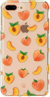 Velvet Caviar for Cute iPhone 8 Plus Case & iPhone 7 Plus Case Peach Clear for Women & Girls - Protective Phone Cases [Drop Test Certified] (Peachy Orange)