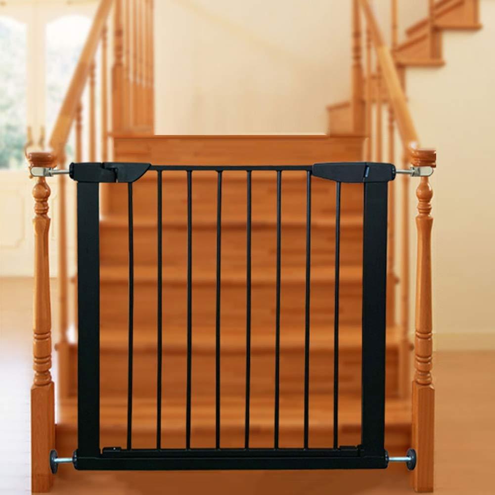 Bebé Puerta De Escalera Reja De Seguridad Aislamiento De Mascotas Cierre Automático Balcón De Escalera Barandilla Protectora Resistente Al Desgaste, 13 Tamaños: Amazon.es: Hogar