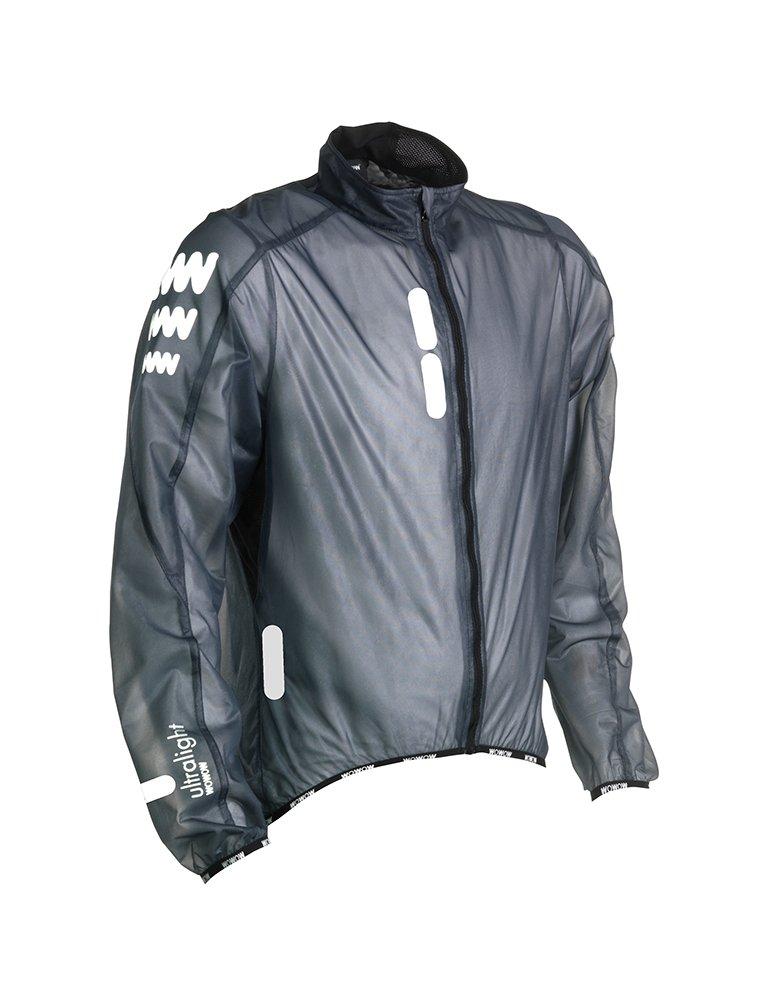 WOWOW 011211Ultralight Supersafe Jacke Reflektierend Marineblau