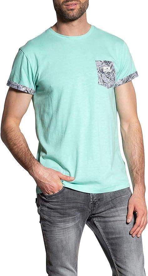 Deeluxe – Camiseta china con bolsillo estampado Shamar ...