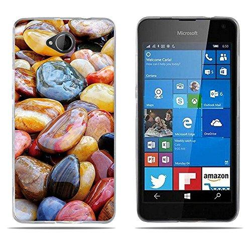 DIKAS para Nokia Microsoft Lumia 650, 3D Flexible TPU Silicona Carcasas Fundas Protectora, Ultra Slim, Anti-Rasguño, Shock-Absorción, Huellas Dactilares para Nokia Microsoft Lumia 650- pic: 02