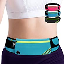 AIKENDO Running Pouch Belt Waist Pack Bag,Workout Fanny Pack,Bounce Free Jogging Pocket Belt–Travelling Money Cell Phone H...